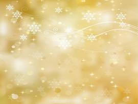 Golden Holiday Presentation Backgrounds