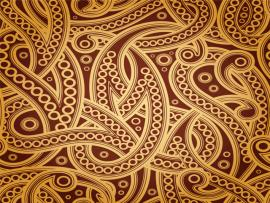 Golden Pattern Seamless Pattern Texture Vector Pattern Slides Backgrounds