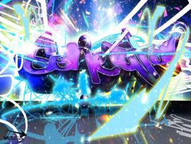 Graffiti Disco Picture Backgrounds