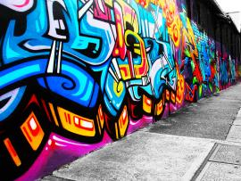 Graffiti For The Street Image Design Backgrounds
