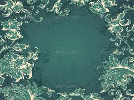 GraphicRiver Green Victorian 5901950 Template Backgrounds
