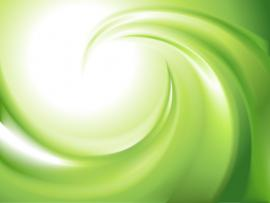 Green and White Swirl Design Backgrounds