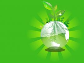 Green Earth  3D Green Nature  PPT Clipart Backgrounds