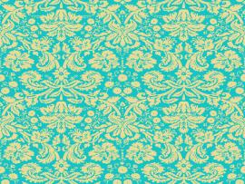 Green Floral Pattern Design Backgrounds