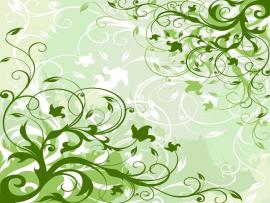 Green Floral Vector Graphic  Free Vector Graphics  All   Quality Backgrounds
