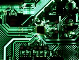 Green Motherboard Circuit Image Backgrounds