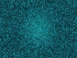 Green Pixel Slides Backgrounds