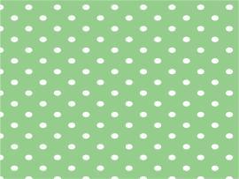 Green Polka Dot Slides Backgrounds
