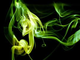 Green Smoke Texture Backgrounds
