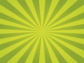 Green Sunburst Spring Backgrounds