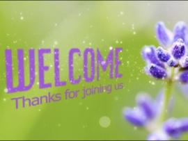 Green Welcome Graphic Backgrounds