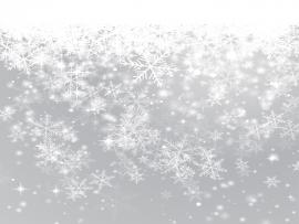 Grey Snowflake Clip Art Backgrounds