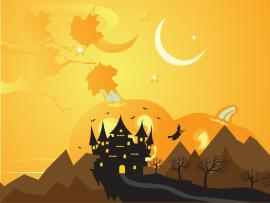 Halloween Holiday Templates Presentation Backgrounds