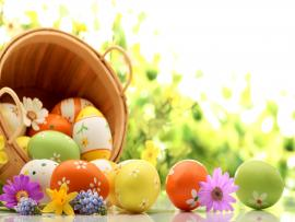 Happy Easter Clipart Backgrounds