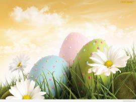 Happy Easter Graphic Backgrounds