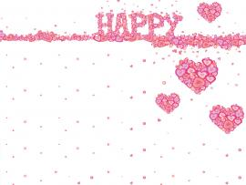Happy Heart for Slide Backgrounds