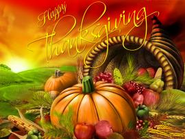 Happy Thanksgiving Day Clip Art Backgrounds