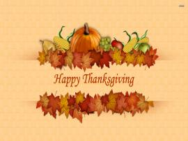 Happy Thanksgiving Day Clipart Backgrounds