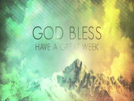 Have A Great Week Clip Art Backgrounds