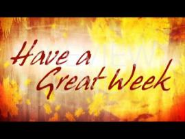 Have A Great Week Image Backgrounds