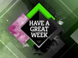 Have A Great Week Image Presentation Backgrounds