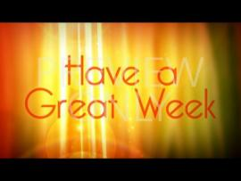 Have A Great Week Presentation Backgrounds
