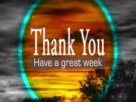 Have A Great Week Slides Backgrounds