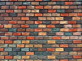 Hd Brick Colorful Structure Backgrounds
