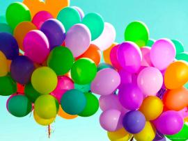Hd Colorful Balloons Download Backgrounds