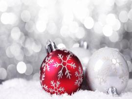 Hd Natural Christmas Ornaments Backgrounds