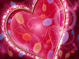 Heart Slides Backgrounds
