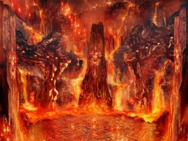 Hell Caves Backgrounds