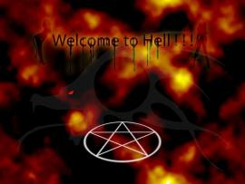 Hell Creature Sign Template Backgrounds