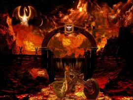 Hell Hellhound Backgrounds