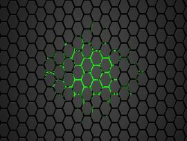 Hex Green Hexagon Graphic Backgrounds