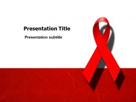 HIV(PPT) Templates  PPT Template For HIV Virus   image Backgrounds