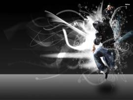 Horror Hip Hop Dance Design Backgrounds