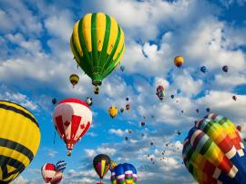 Hot Air Balloons Backgrounds