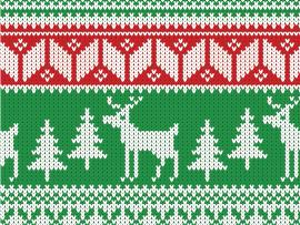 How To Create A Christmas Jumper Pattern Walpaper Template Backgrounds