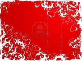 Illustration Valentines Day With Hearts Element image Backgrounds