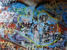 Image Graffiti Slides Backgrounds