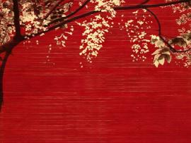 Japanese Red Trees Backgrounds