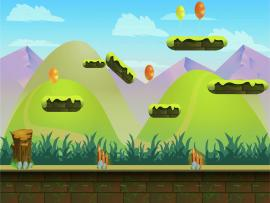 Jumping Game Design Backgrounds