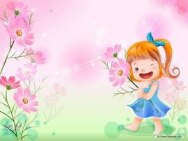 Kids Cartoons Graphic Backgrounds