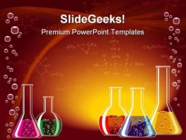 Laboratory Science For PowerPoint Science Quality Backgrounds