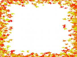 Leaf Border Design Backgrounds