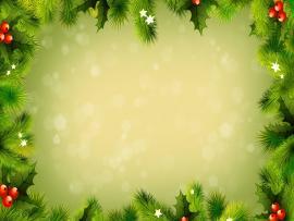 Light Green Christmas Backgrounds