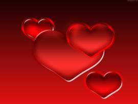 Love Heart Presentation Backgrounds