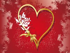 Love Valentine Hearts Graphic Backgrounds