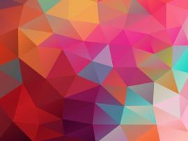 Low Poly Colored Design Backgrounds